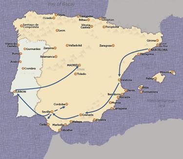TripMap SpainPortugalSized
