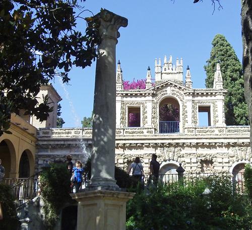 Alcázar Garden Walls