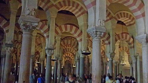 Arches of Mezquita